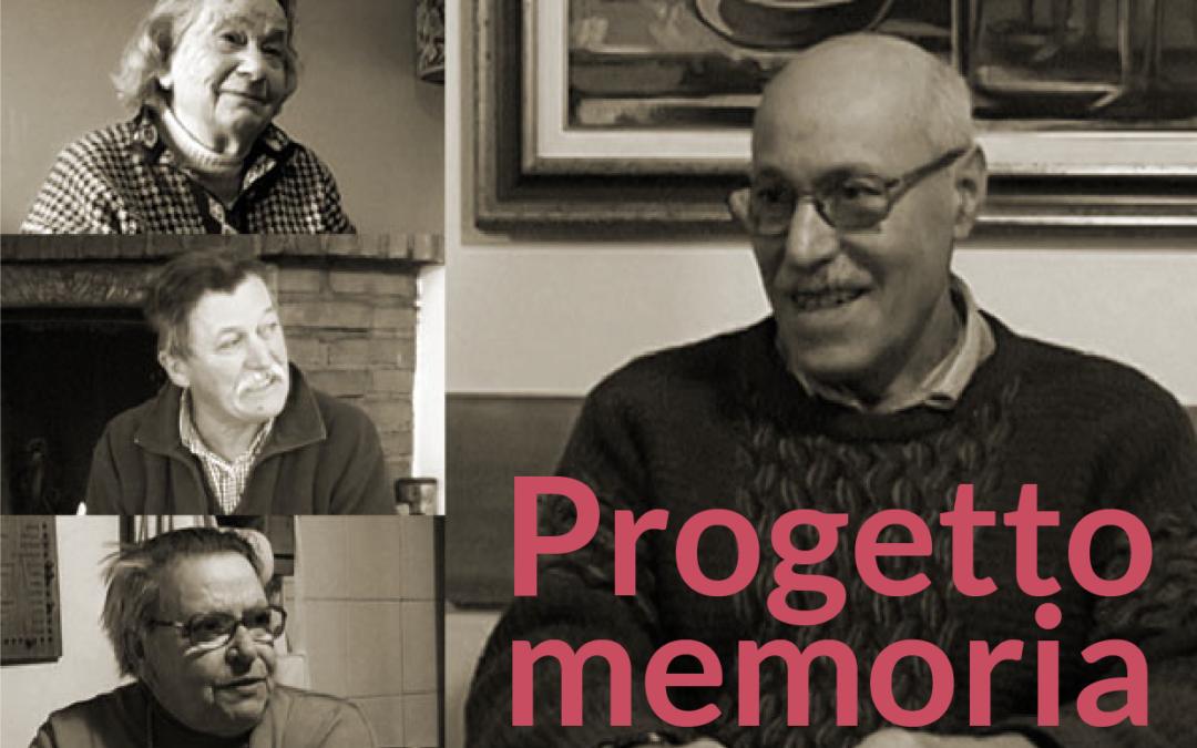 Progetto Memoria – Dialogo tra Generazioni