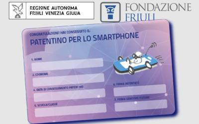 Patentino per l'utilizzo dello smartphone